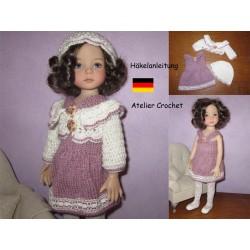 "Anleitung 16 : ""Violette""..."