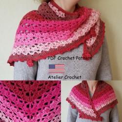 """Crochet Pattern 1 : """"Fleur..."""