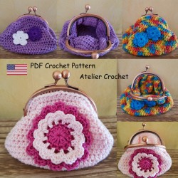 "Crochet Pattern 4 : ""Coin..."