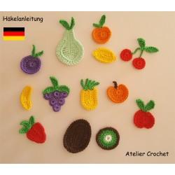 Häkelanleitung : Früchte...