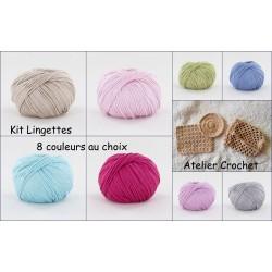 """Kit """"Lingettes Zéro Déchet"""""""