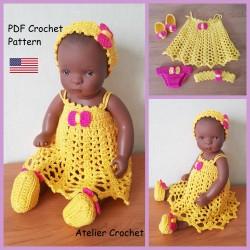 Crochet Pattern 207 :...