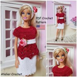 Crochet Pattern 208 :...