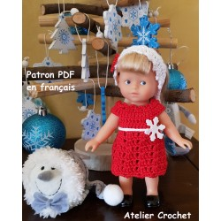 """Patron Crochet """"Rouge et..."""