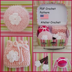"Crochet Pattern ""Bathroom..."