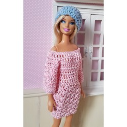 patron robe au crochet pour Barbie