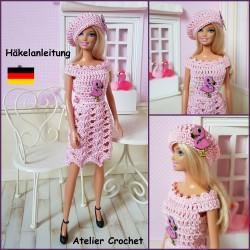 """Anleitung : """"Flamingo Barbie"""""""