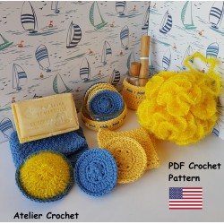 "Crochet Pattern ""Zero waste..."