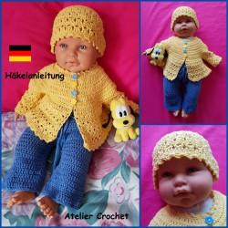 "Anleitung Baby 24 : ""Edoline"""