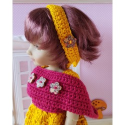 patron bandeau crochet pour poupée Fashion Friends
