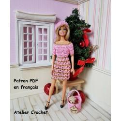 """Fiche patron 249 : """"Pink..."""