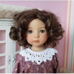 Col au crochet pour poupée...