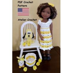 """Crochet Pattern 259 : """"Miss..."""