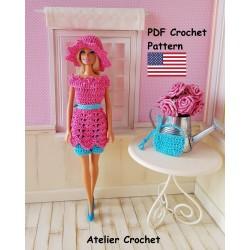 Crochet Pattern 230 :...