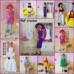 "Livre ""Le Dressing de Barbie"""
