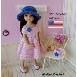 Crochet Pattern 263 :...
