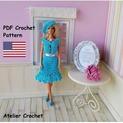 Crochet Pattern 265 :...