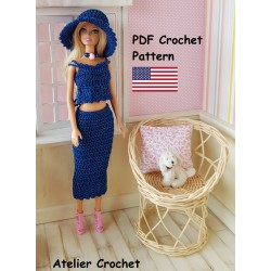 Crochet Pattern 274 :...