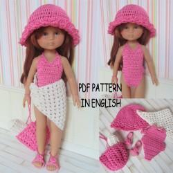 """Crochet Pattern 28 : """"Marie..."""