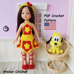 Crochet Pattern 276 :...