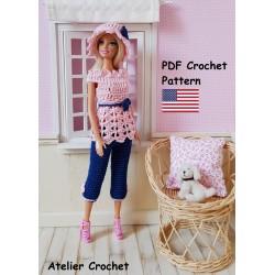 Crochet Pattern 133 :...
