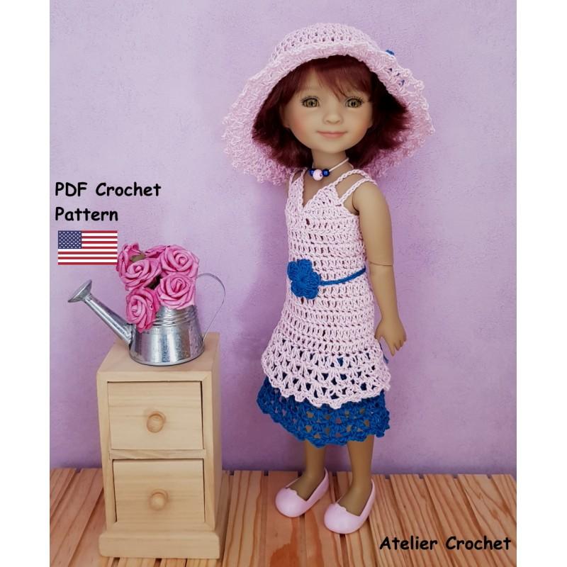 crochet pattern for Fashion Friends