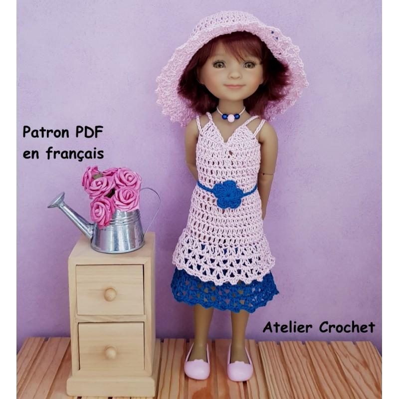 Patron crochet pour poupée Ruby Red Fashion Friends