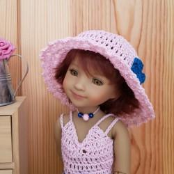 Patron chapeau au crochet pour poupée Fashion Friends