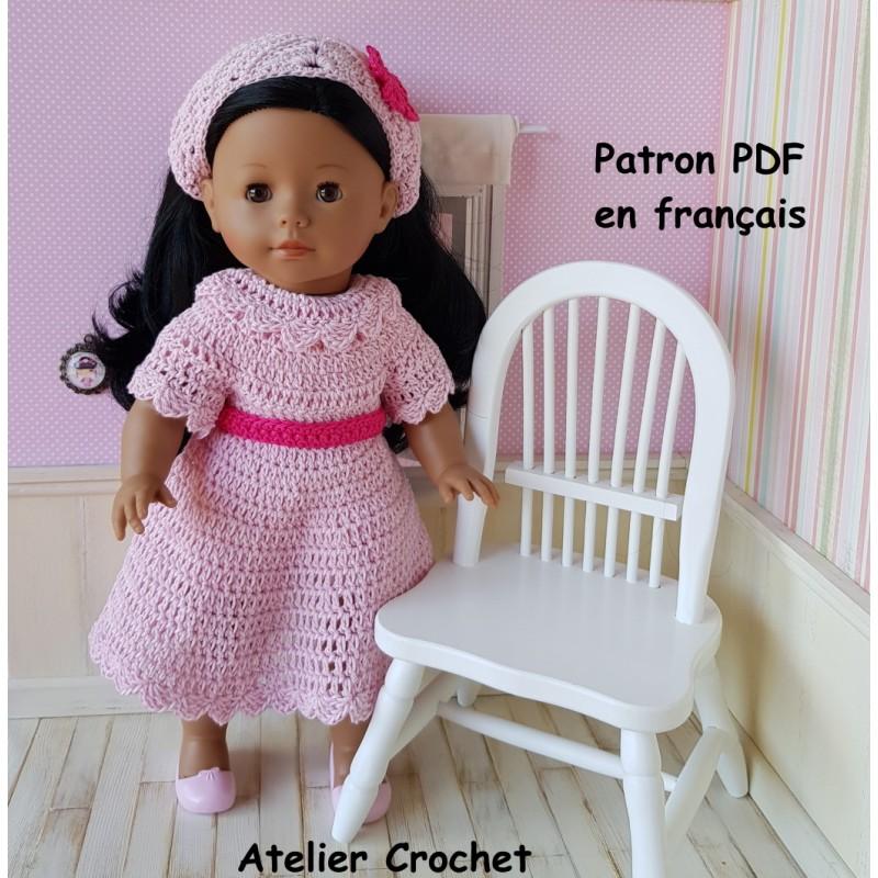 Patron crochet pour poupée Ma Corolle