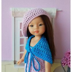 patron crochet pour poupée Paola Reina Las Amigas