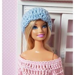 hat crochet pattern for Barbie.