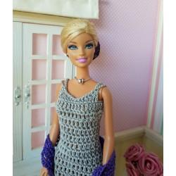 Tenue de soirée pour poupée Barbie