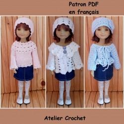 patron crochet pour poupée Fashion Friends