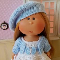 Patron crochet pour poupée Mia Nines d'Onil