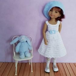 Patron d'une tenue au crochet pour poupée Fashion Friends