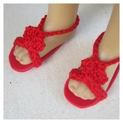 Sandales pour poupée Little...