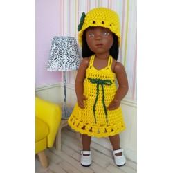 Tenue Léa pour poupée Minouche