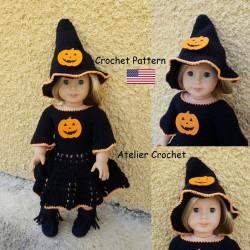 """Crochet Pattern 142 : """"Miss..."""